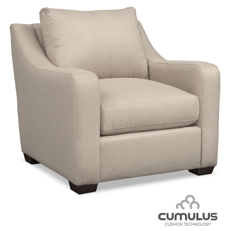 Living Room Furniture - Jules Cumulus Chair - Cream
