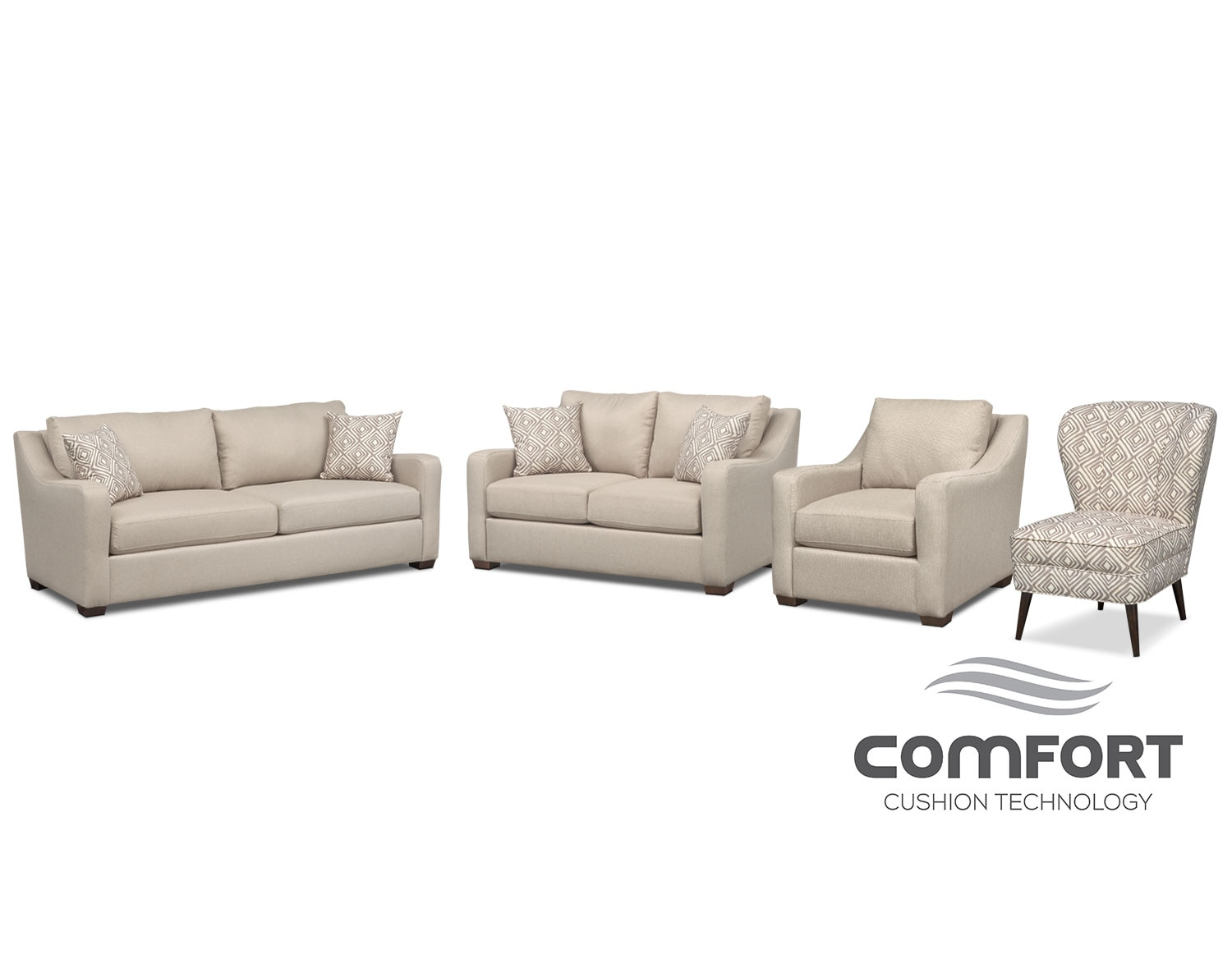 The Jules Comfort Collection - Cream