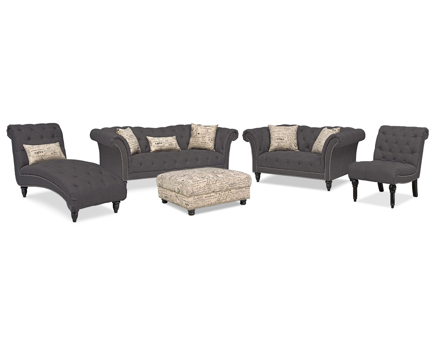 The Marisol Collection - Charcoal