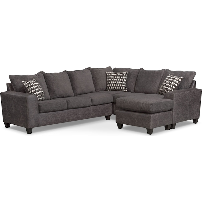 Excellent Brando 3 Piece Sectional With Modular Chaise Pabps2019 Chair Design Images Pabps2019Com