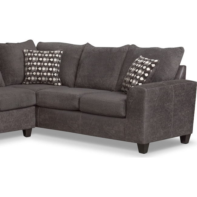 Marvelous Brando 3 Piece Sectional With Modular Chaise Pabps2019 Chair Design Images Pabps2019Com