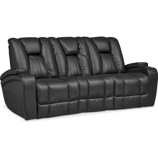 Living Room Furniture Pulsar Dual Reclining Sofa