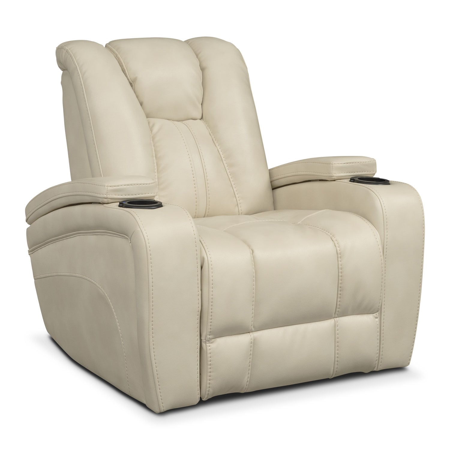 Pulsar Power Recliner   Cream
