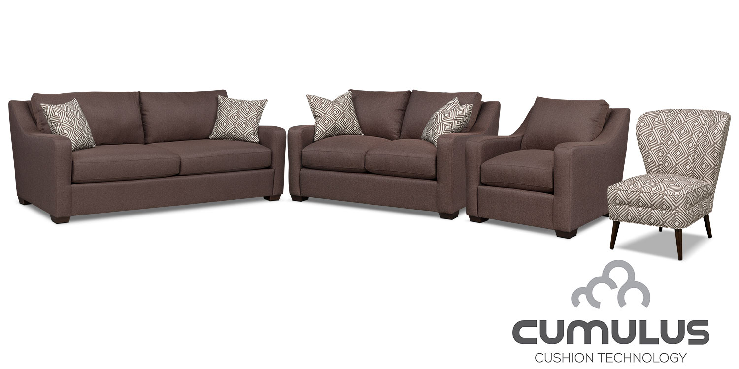 The Jules Cumulus Collection - Brown