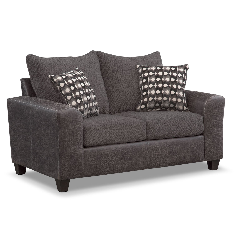 Brando Queen Memory Foam Sleeper Sofa Loveseat and Swivel Chair