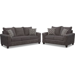 Brando Queen Sleeper Sofa and Loveseat Set