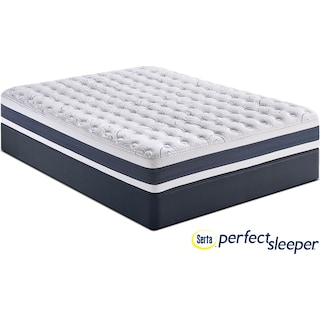 Strathfield Firm Queen Mattress and Low-Profile Foundation Set