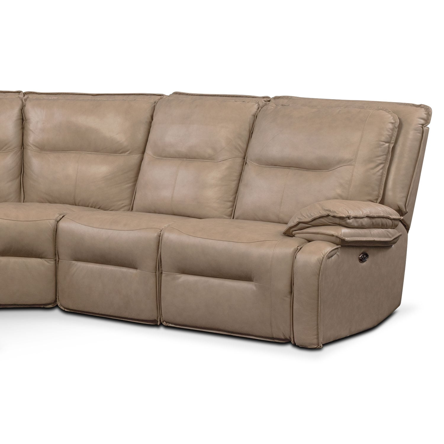 28 power reclining sectional sofa with chaise st malo 3 pie