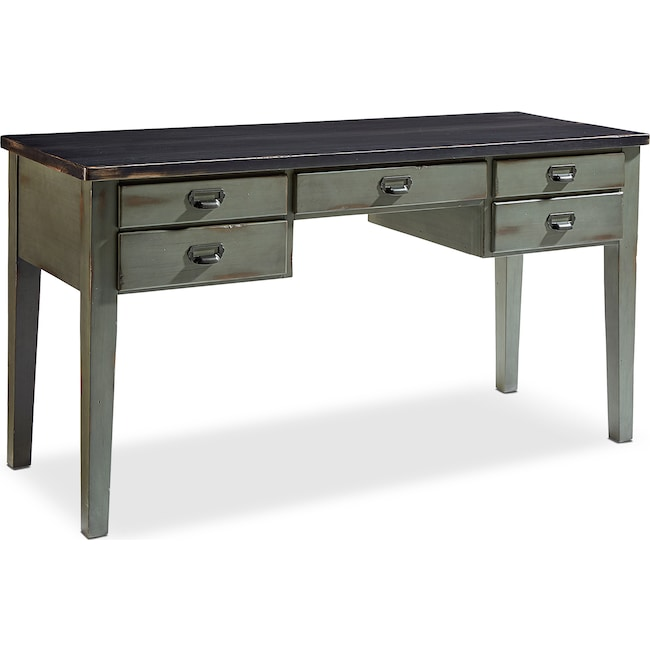 Home Office Furniture - Library Desk Table - Patina