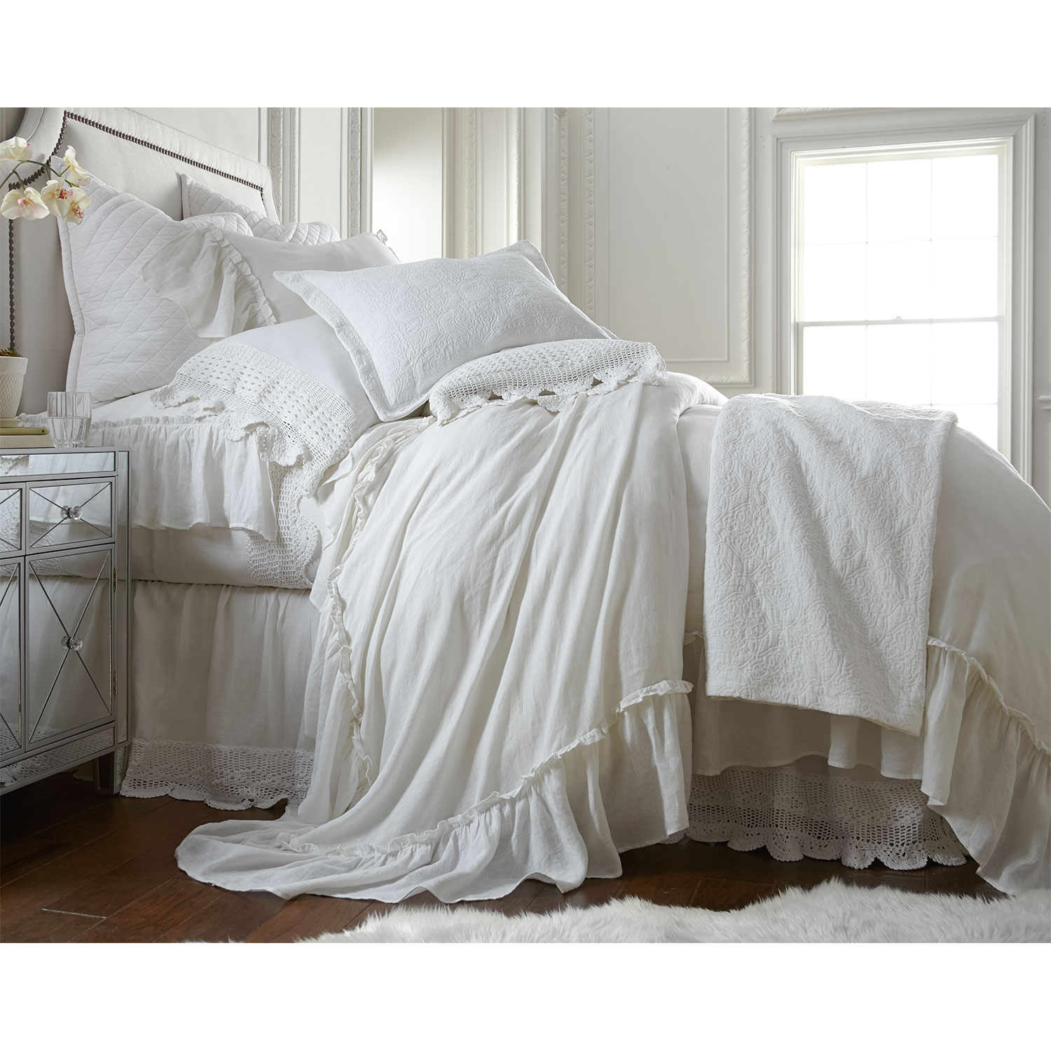 Accent and Occasional Furniture - Caprice King Duvet Cover