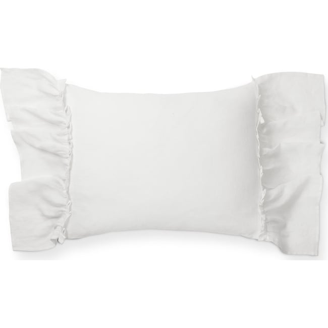 Accent and Occasional Furniture - Caprice Standard Sham - White