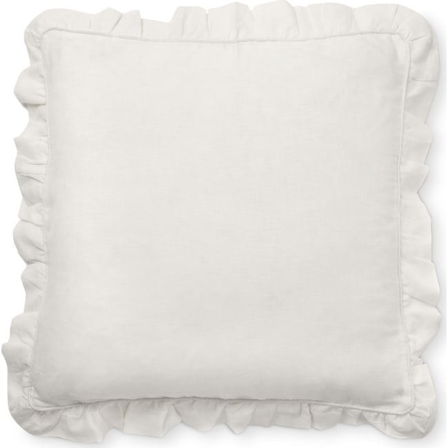 Accent and Occasional Furniture - Basillo Euro Sham - White
