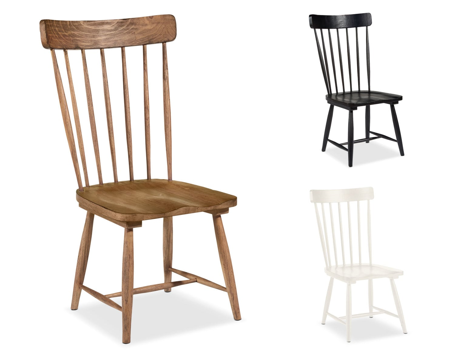 The Farmhouse Spindle Back Side Chair Collection