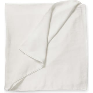 Damara Queen Duvet Cover - White