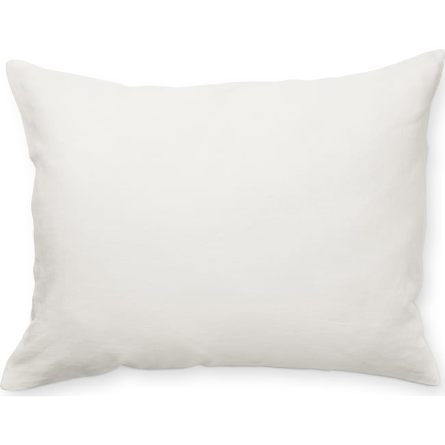 Accent and Occasional Furniture - Damara Queen Sham - White