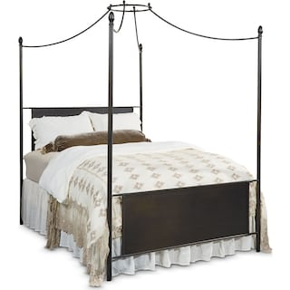 The Traditional Manor Straight Back Canopy Bed Collection