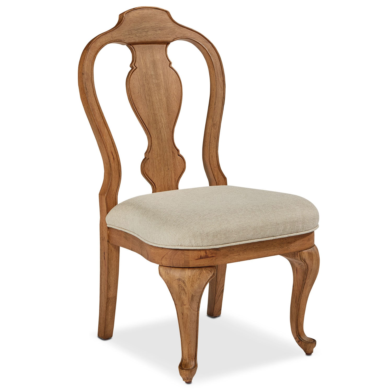 Dining Room Furniture - Queen Anne Side Chair - Bench