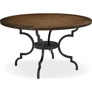 French Inspired Breakfast Dining Table - Black