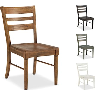 The Kempton Slat Back Dining Chair Collection