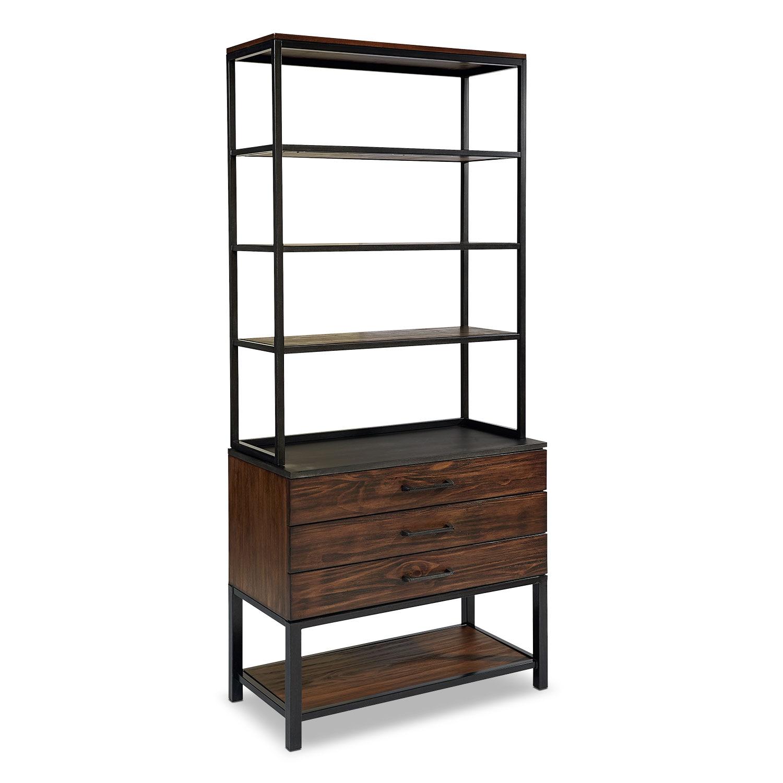 Dining Room Furniture - Framework Deck and Hutch - Milk Crate