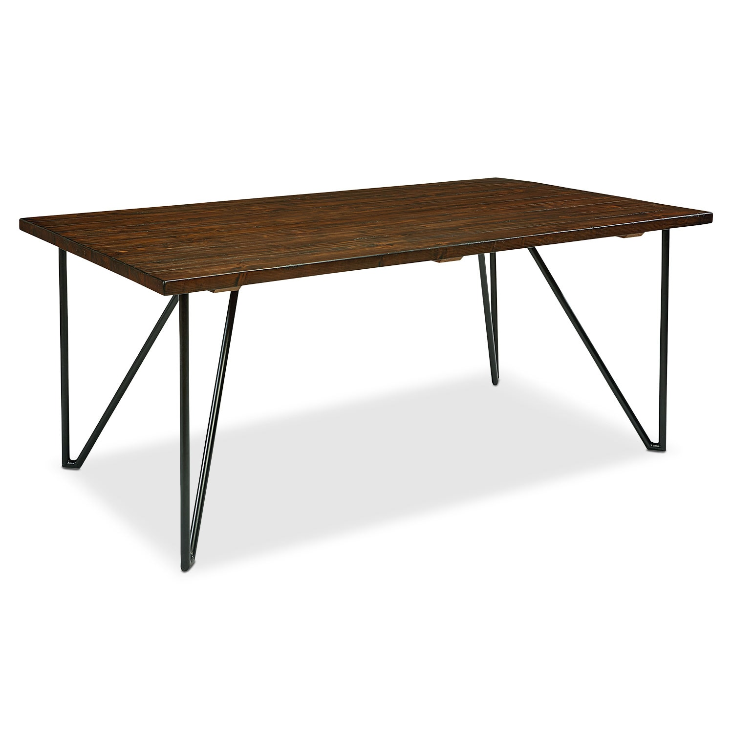 6' Boho Hairpin Dining Table