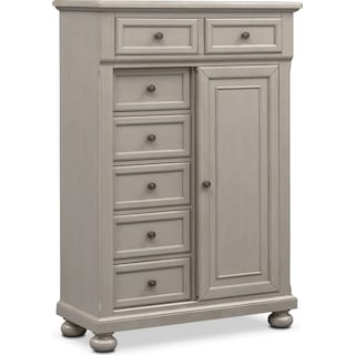 Hanover Door Chest- Gray
