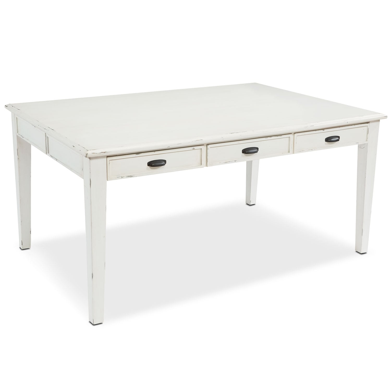 6' Farmhouse Keeping Table - Antique White
