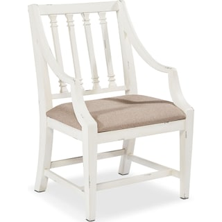 Revival Arm Chair - White