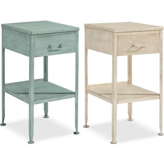 The Metal Utility Side Table Collection