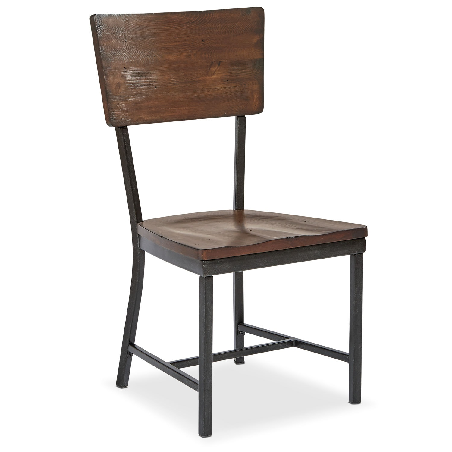 Dining Room Furniture - Contour Side Chair - Milk Crate