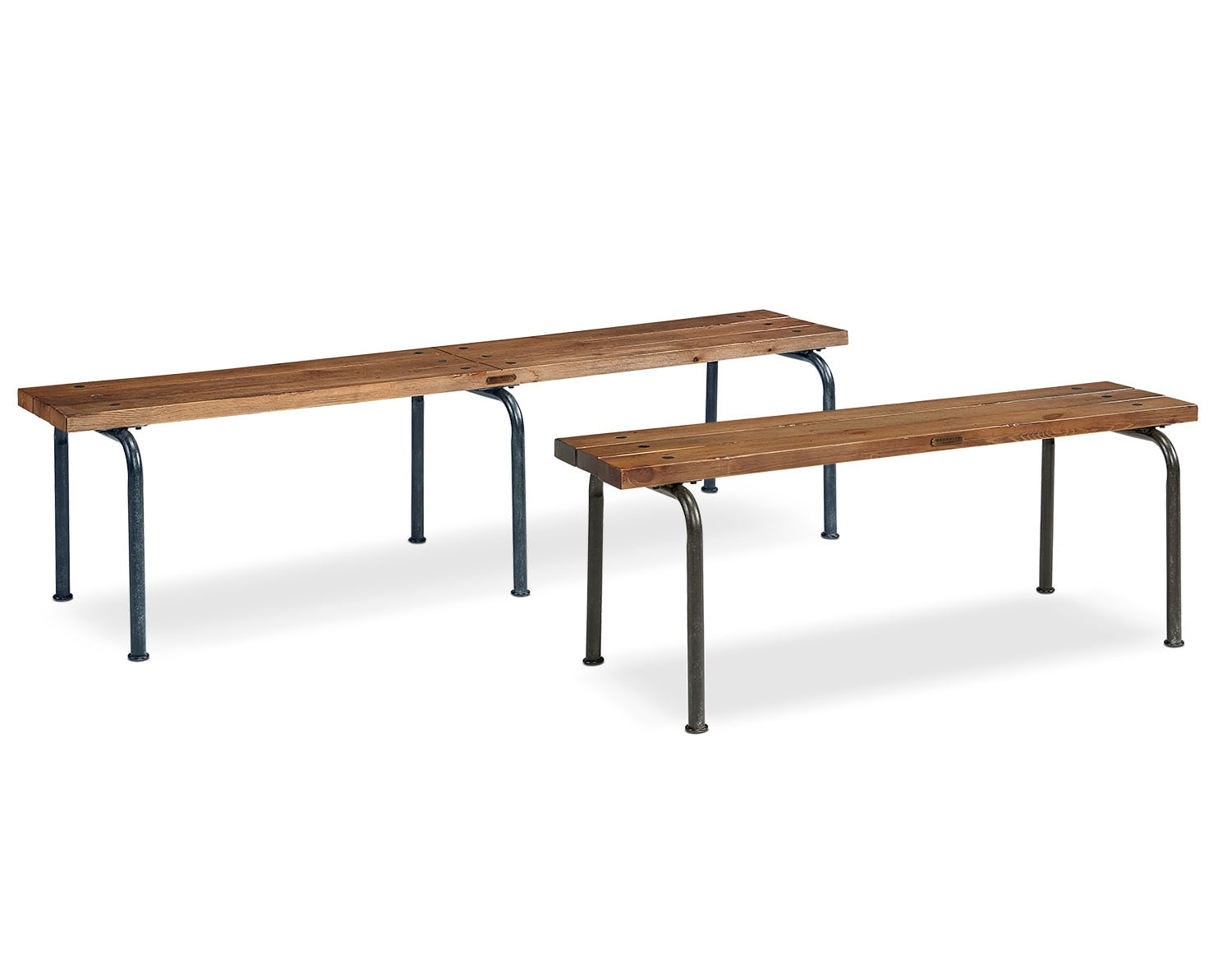 The Rustic Plank Bench Collection