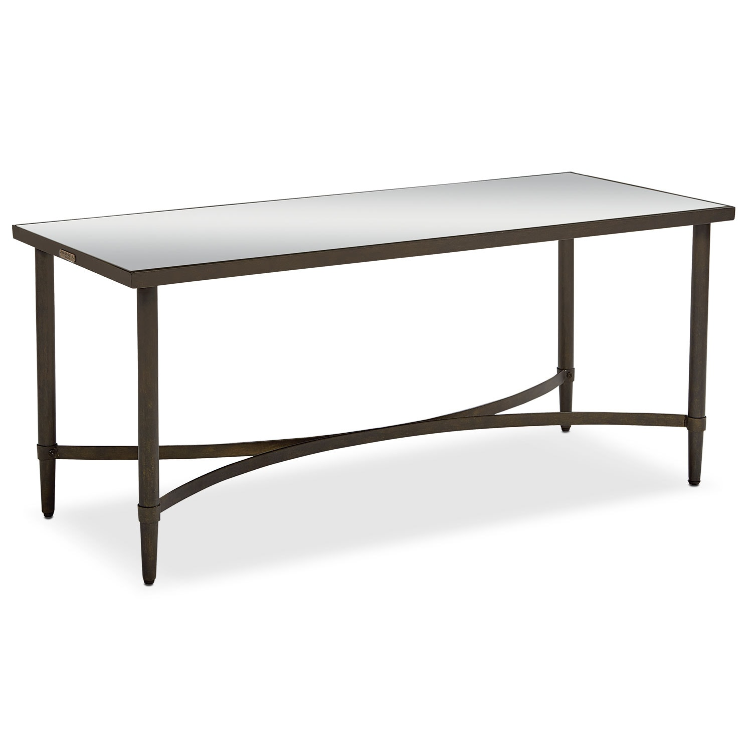 Accent and Occasional Furniture - Mercury Coffee Table - Blackened Bronze