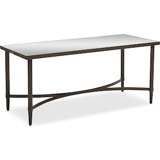Mercury Coffee Table - Blackened Bronze
