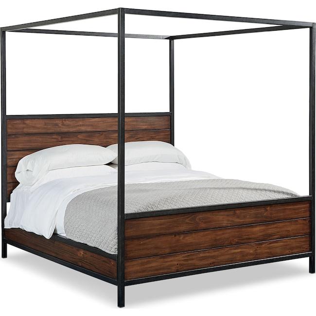 Bedroom Furniture - Framework King Canopy Bed