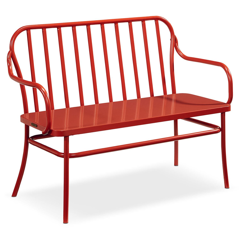 benches settees value city furniture. Black Bedroom Furniture Sets. Home Design Ideas
