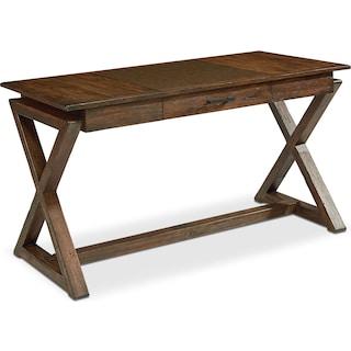 Sawbuck Desk - Barn Door