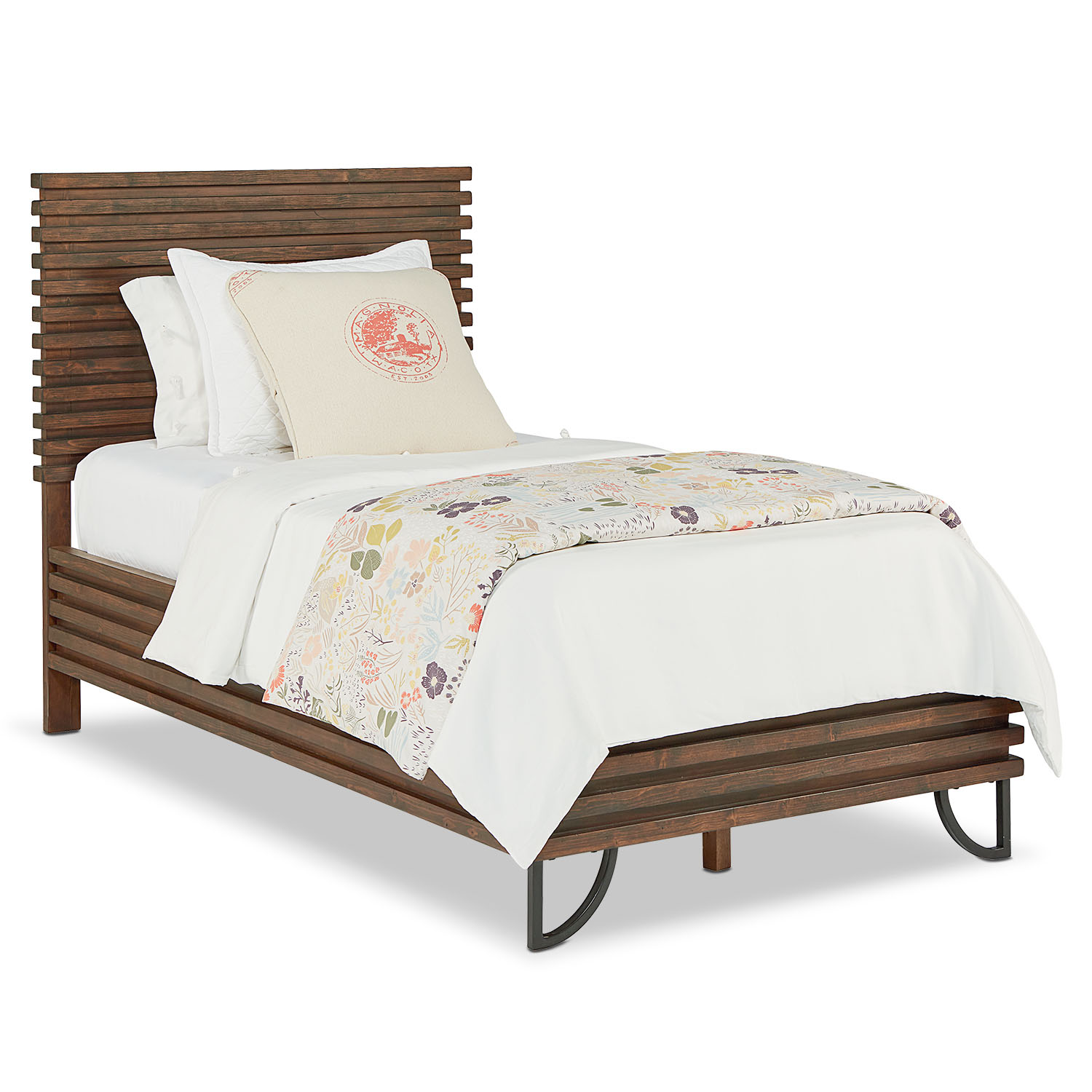 Bedroom Furniture - Full Stacked Slat Bed