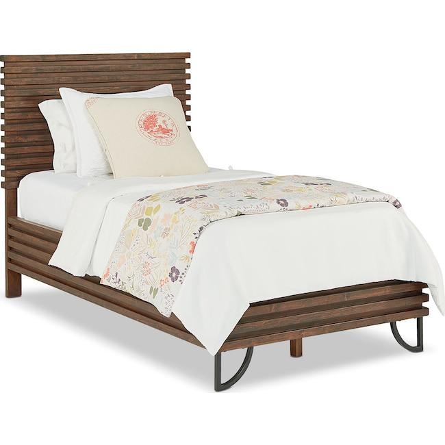 Bedroom Furniture - Full Stacked Slat Bed