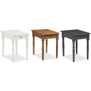 The Taper Turned End Table Collection