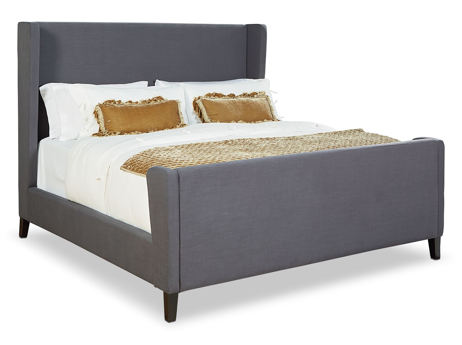 The Profile Upholstered Bed Collection