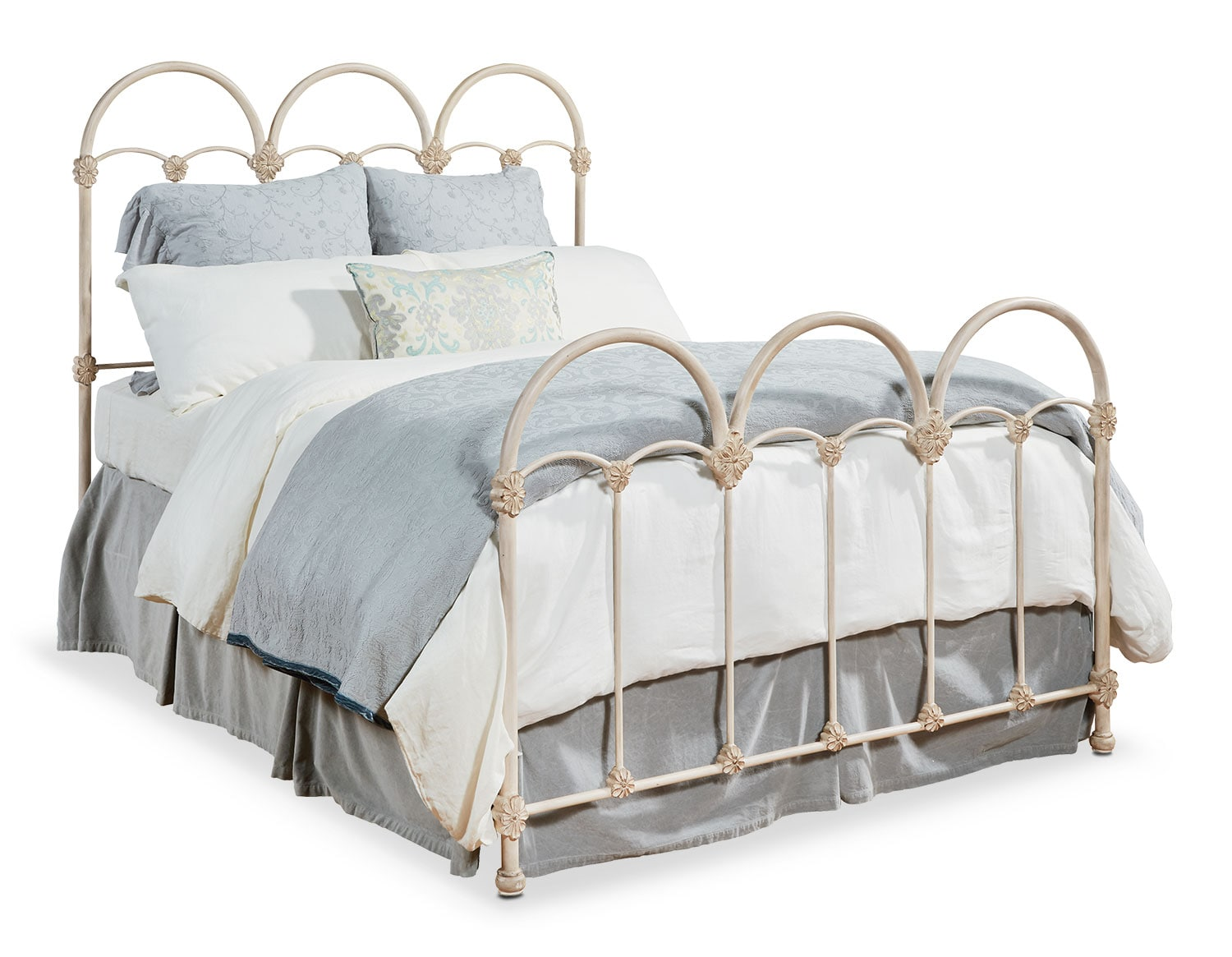 The Rosette Iron Bed Collection