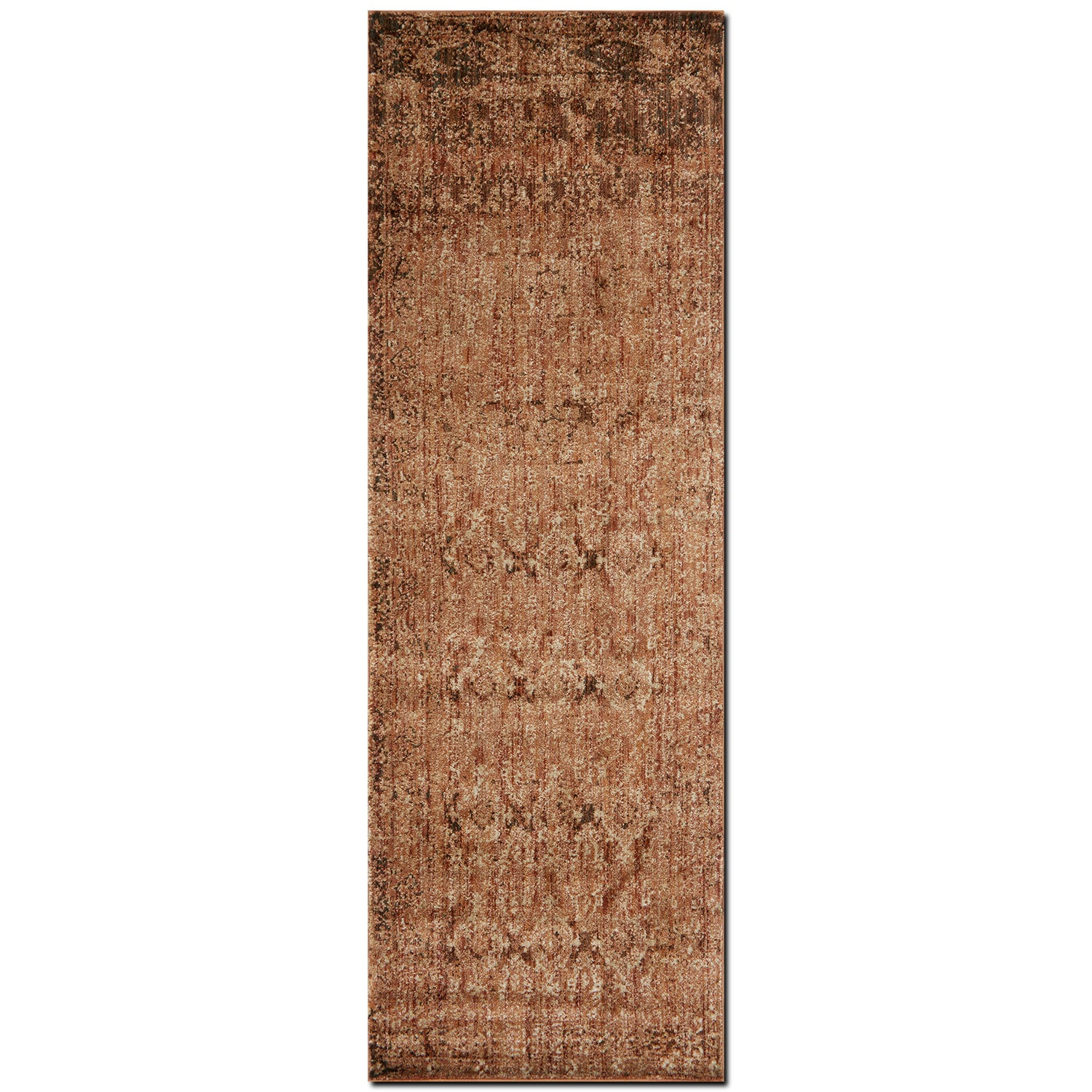 Kivi 3' x 8' Rug - Sand and Copper