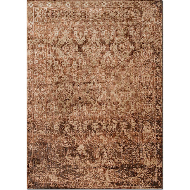 Rugs - Kivi 12' x 15' Rug - Sand and Copper