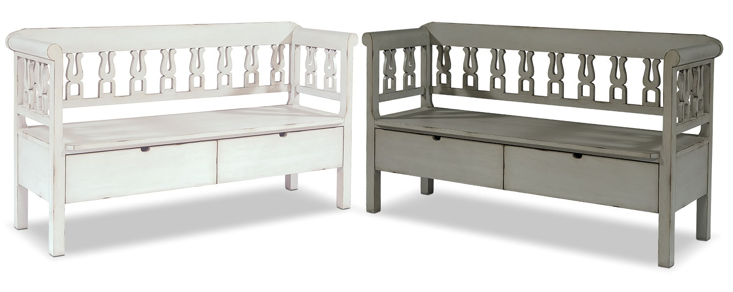 The Storage Hall Bench Collection