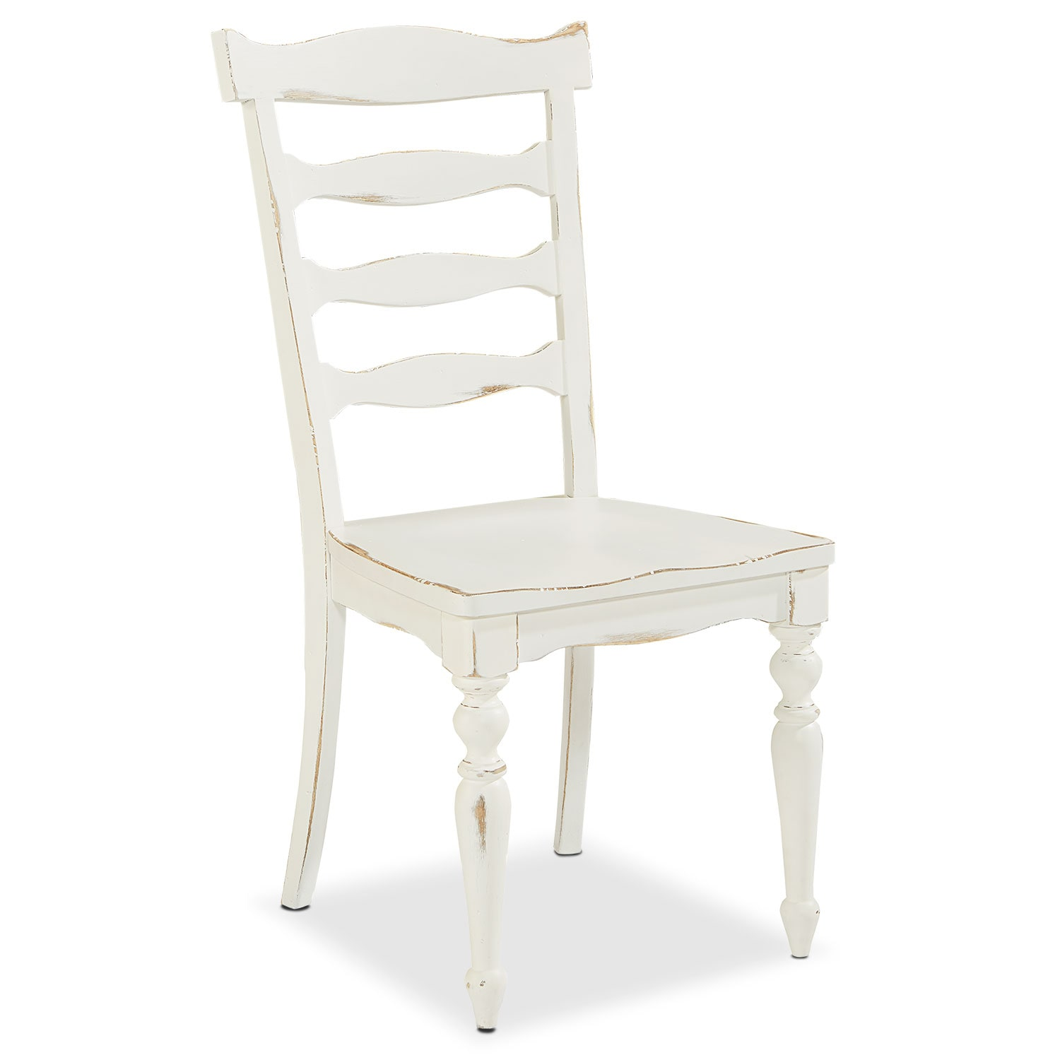 Ellis Side Chair - White