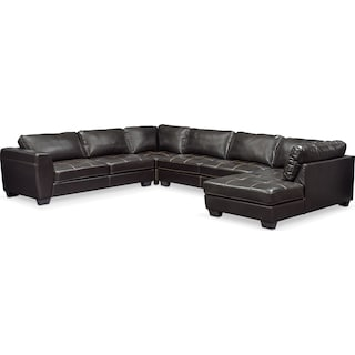Santana 4-Piece Sectional with Chaise