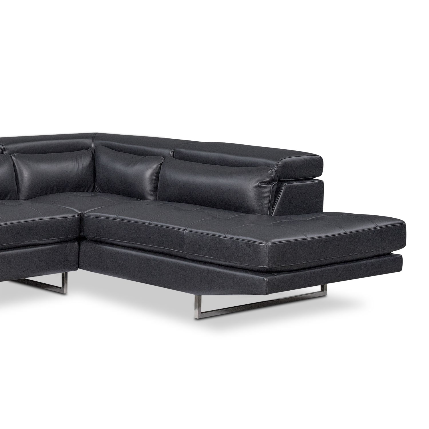 Torino 2 Piece Sectional With Right Facing Chaise