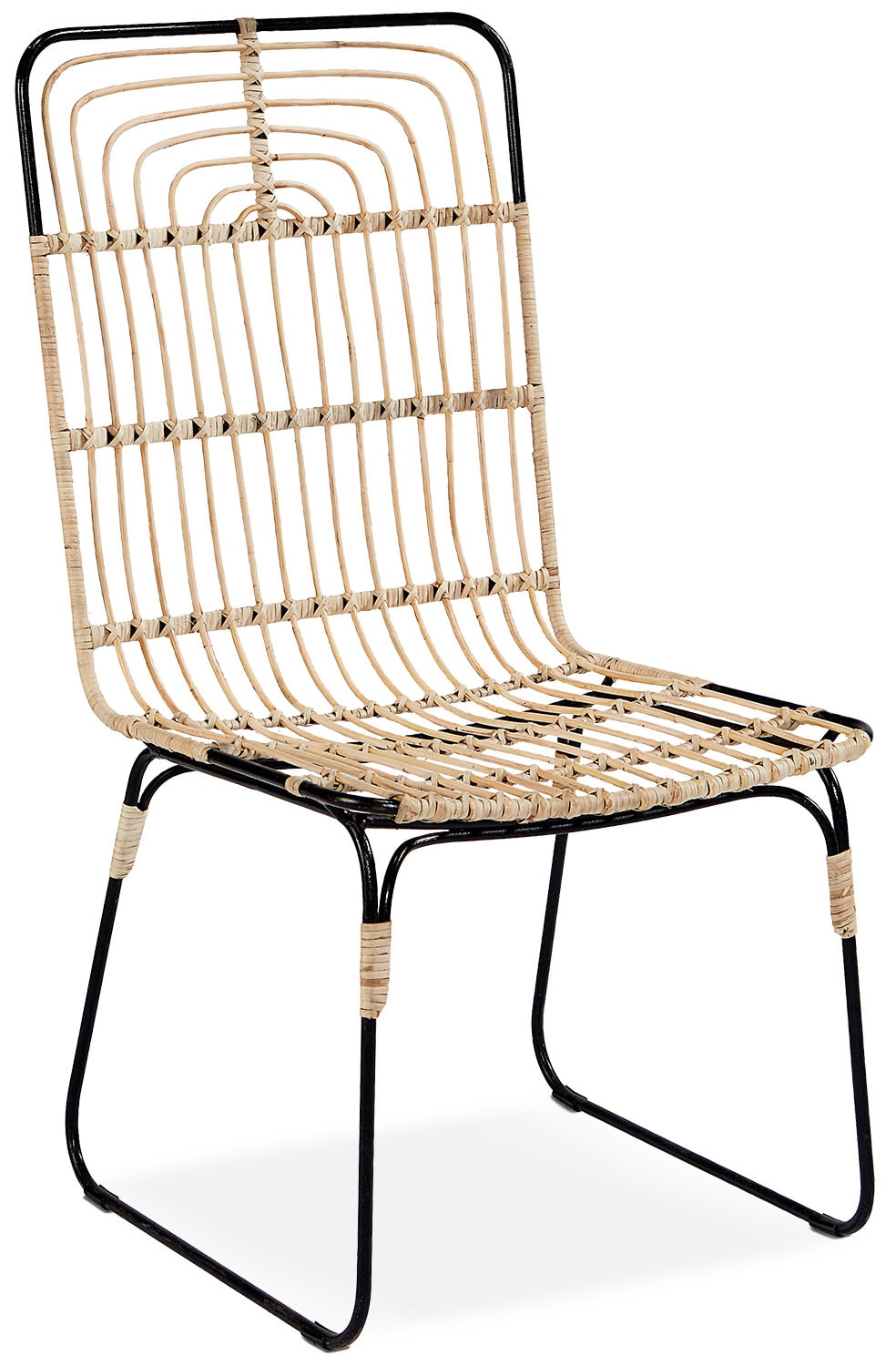 Dining Room Furniture - Entwine Rattan Side Chair
