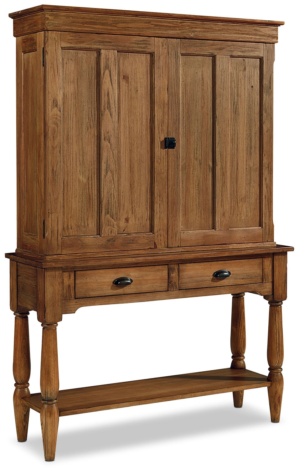 Dining Room Furniture - Primitive Console and Hutch - Bench