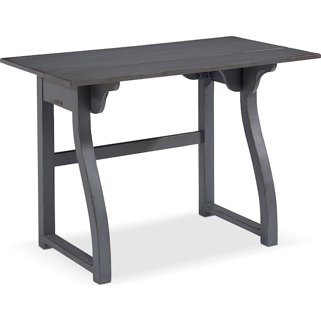 Home Office Furniture - Small Writing Desk - French Grey